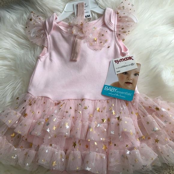Baby Essentials Other - NWT Ballerina Onesie with Headband